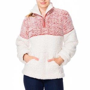 30% OFF 2/MORE Sherpa Jacket w/Kangaroo Pocket